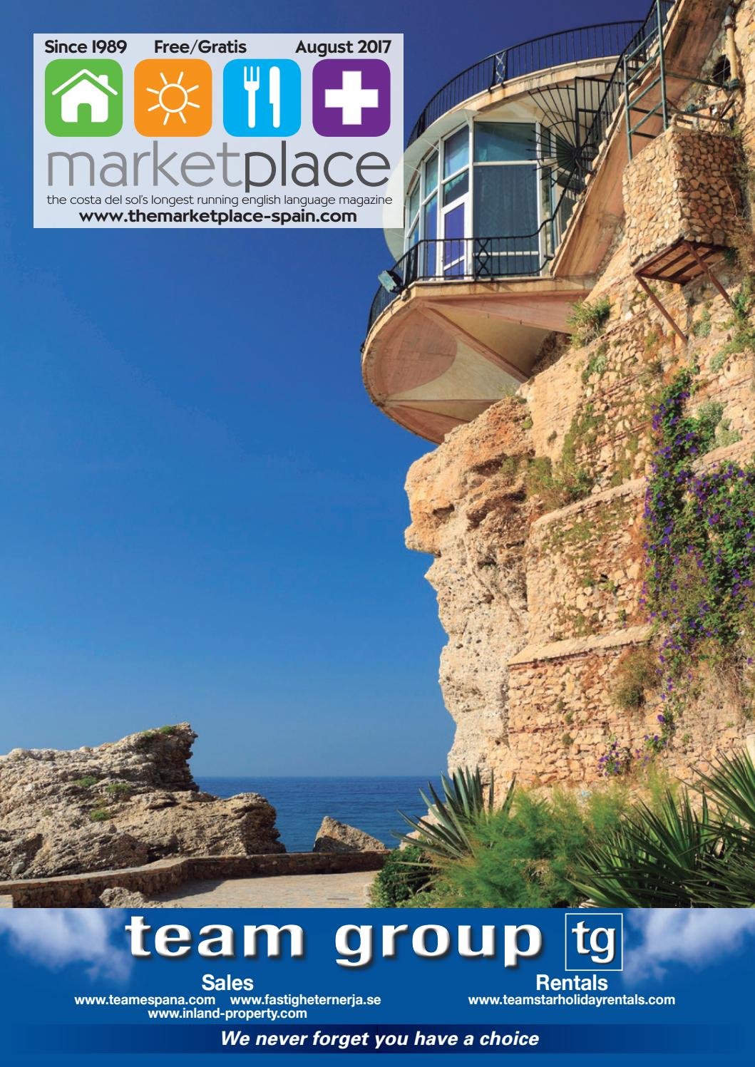 Market Place Magazine August 2017 By Baker Pickard Sl Issuu