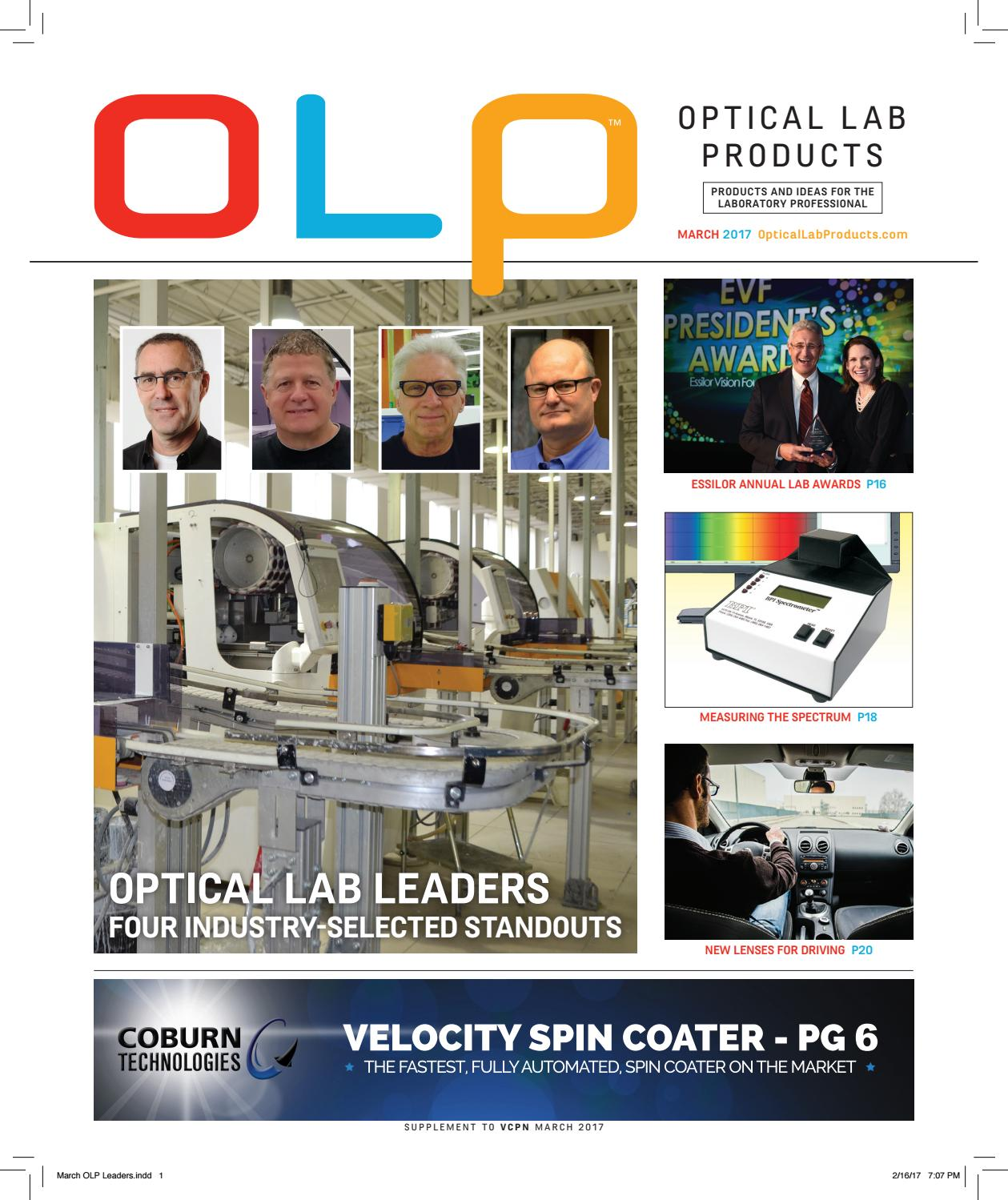 e6fd10872a0 Optical Lab Products Mar 2017 by First Vision Media Group - issuu