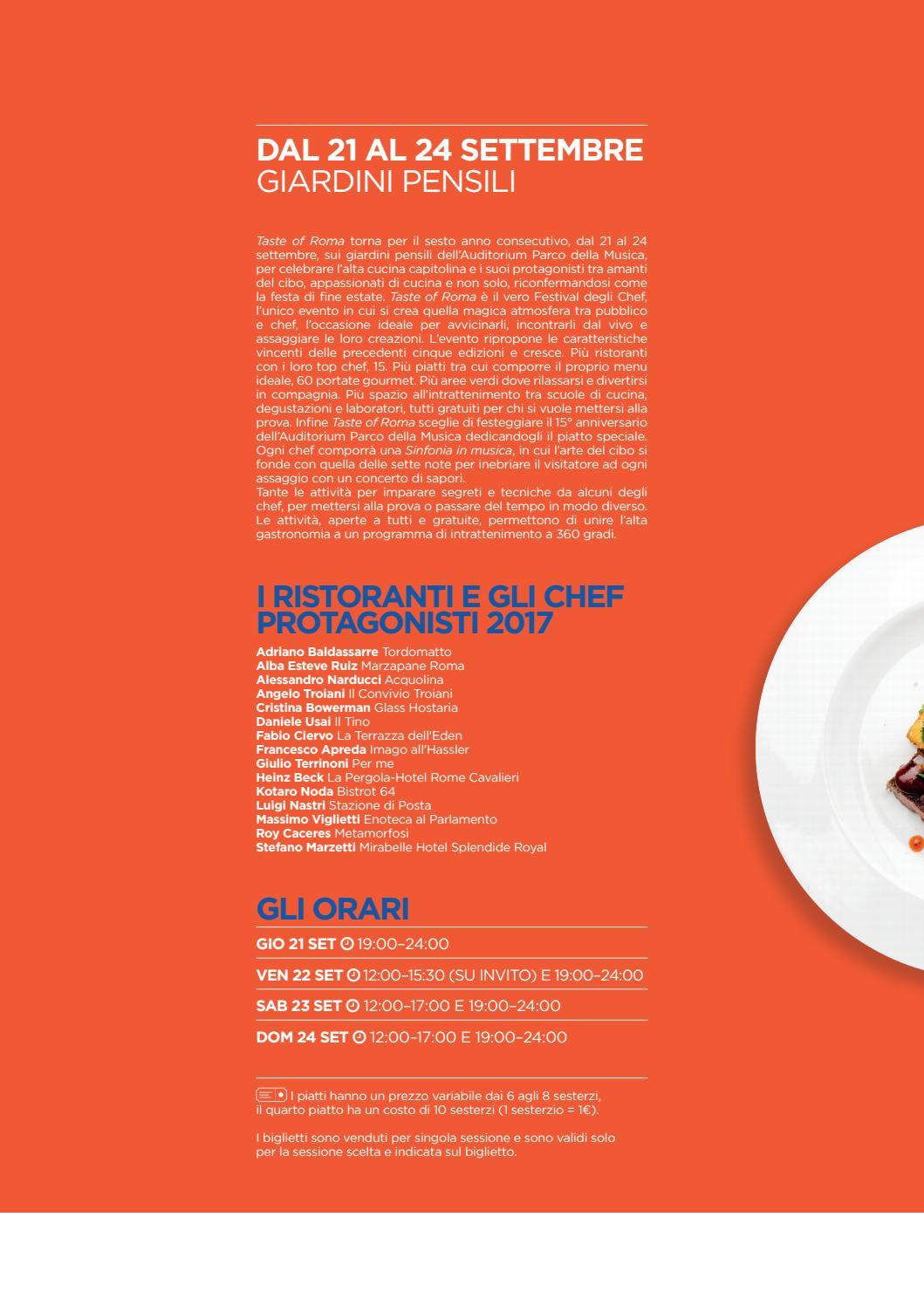 Auditorium Parco Della Musica Magazine Settembre 2017 By