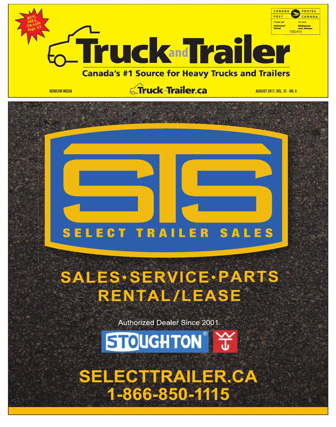 Truck and Trailer August 2017 by Annex Business Media - issuu