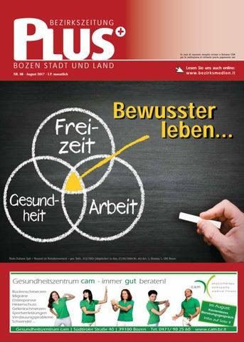 Plus 08 vom 03/08/2017 by Bezirksmedien GmbH - issuu