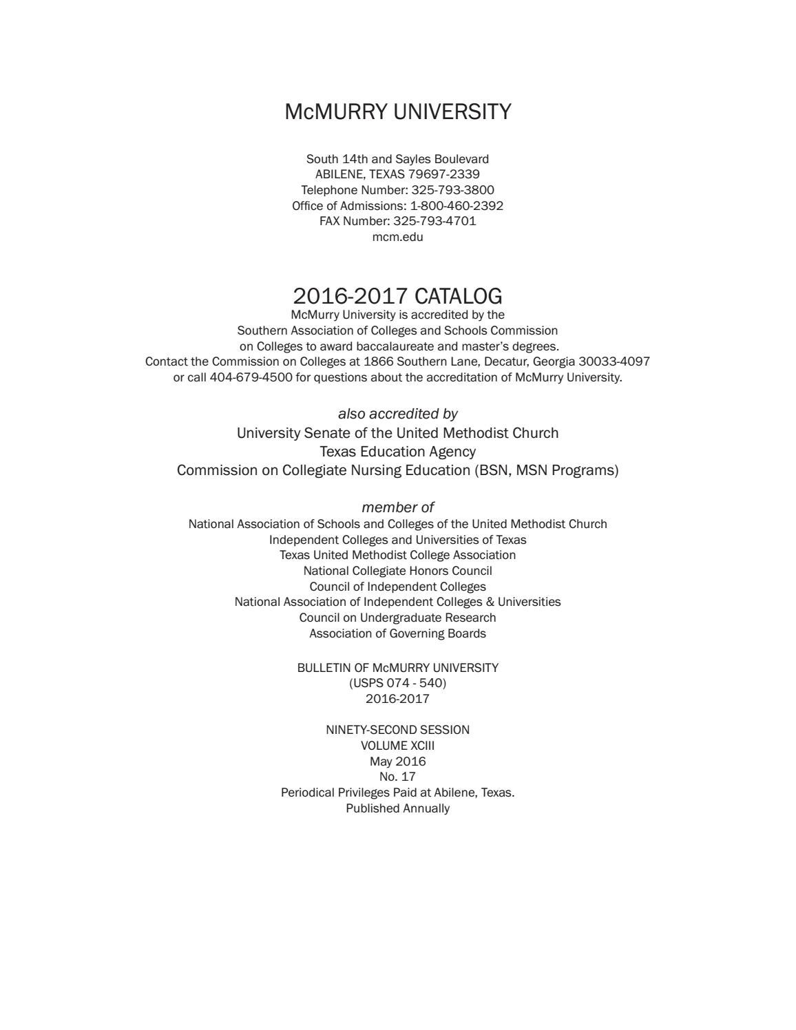 McMurry Catalog 2016-17 by McMurry - issuu