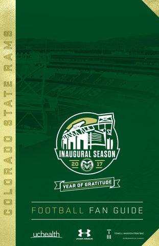 Colorado State Football Fan Guide - 2017 by Colorado State