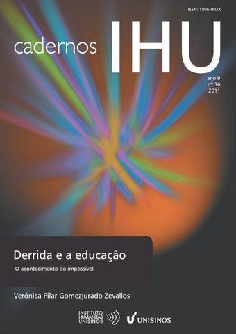 Resultado de imagem para Derrida e a educação: O acontecimento do impossível