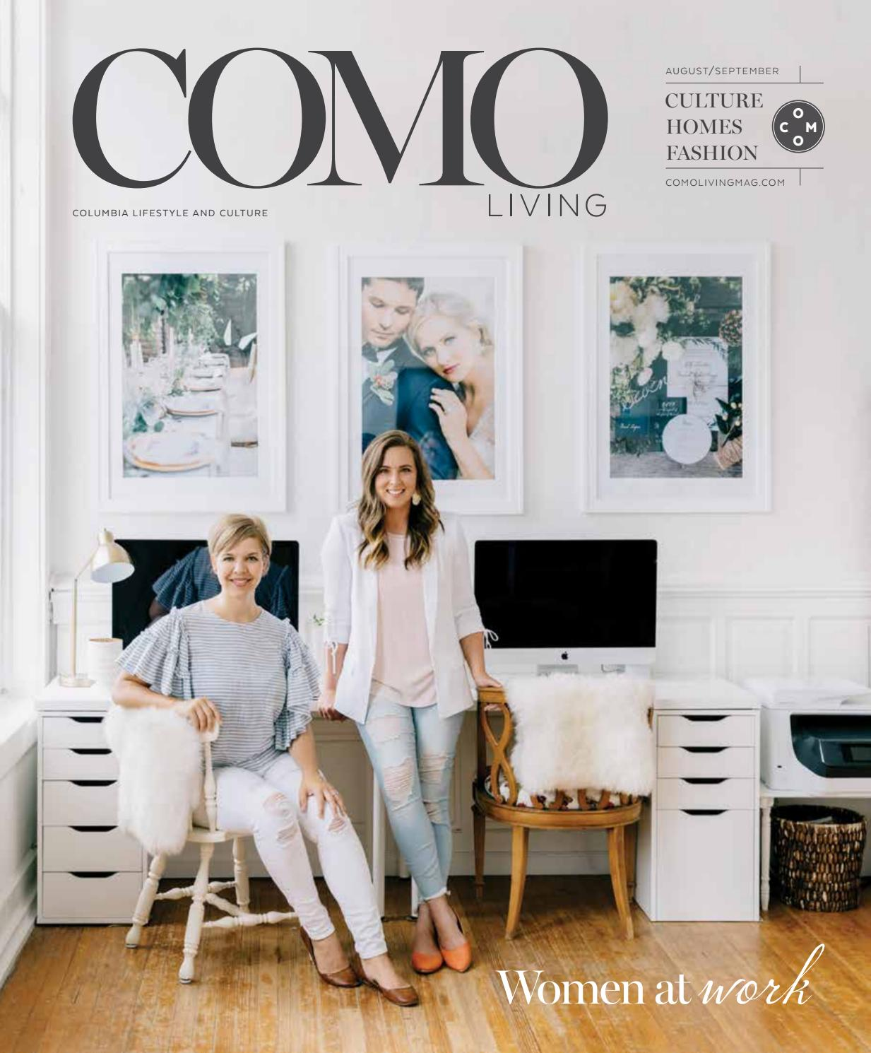 Como living magazine august september 2017 by business times company issuu