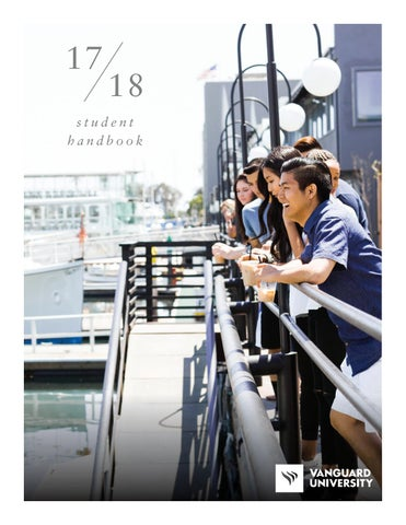 2017-2018 Student Handbook by Vanguard University - issuu