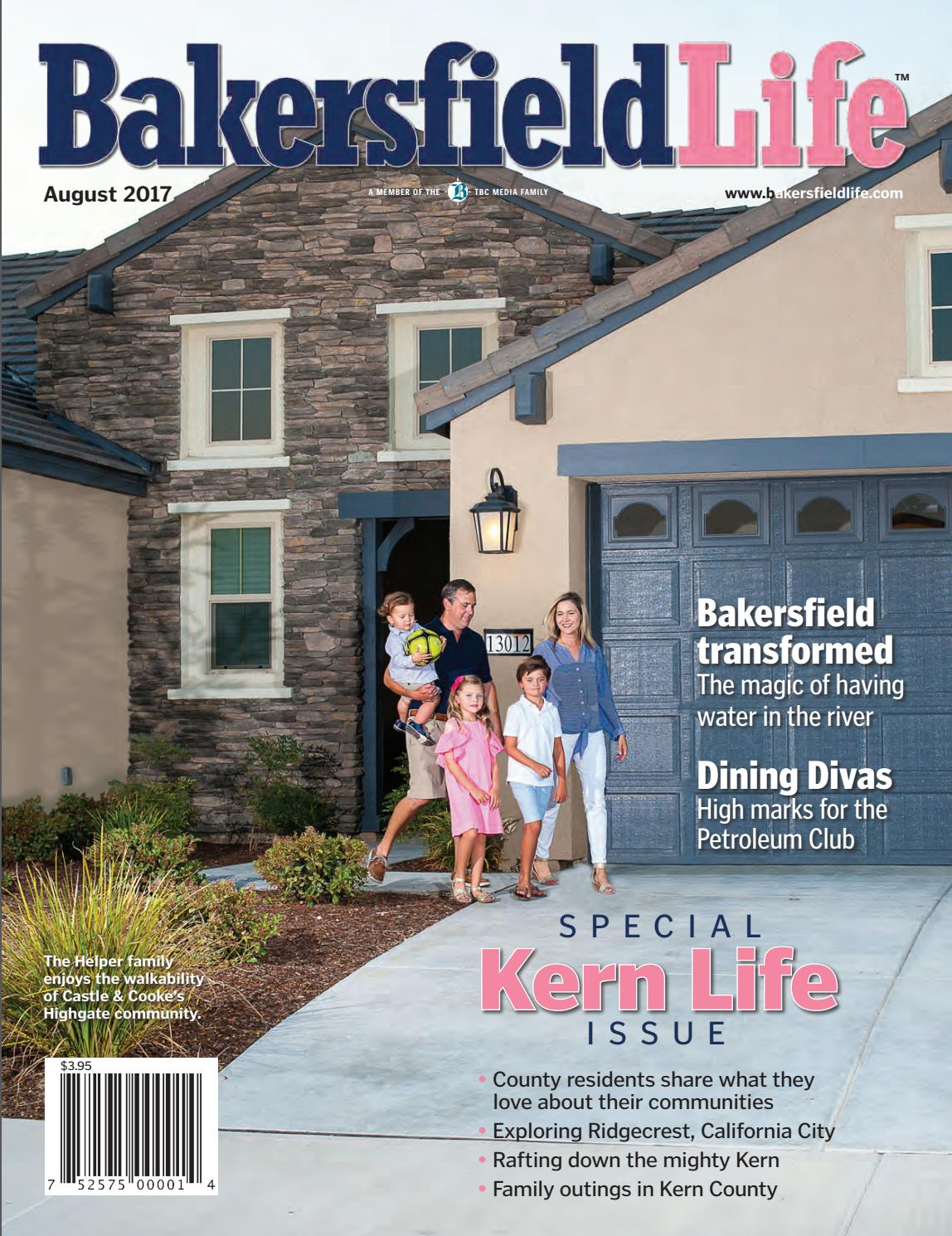 lovely bakersfield home magazine #2: Bakersfield Life Magazine August 2017 by TBC Media Specialty Publications -  issuu