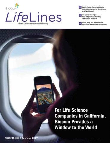 Biocom Lifelines Summer 2017 by Biocom - issuu