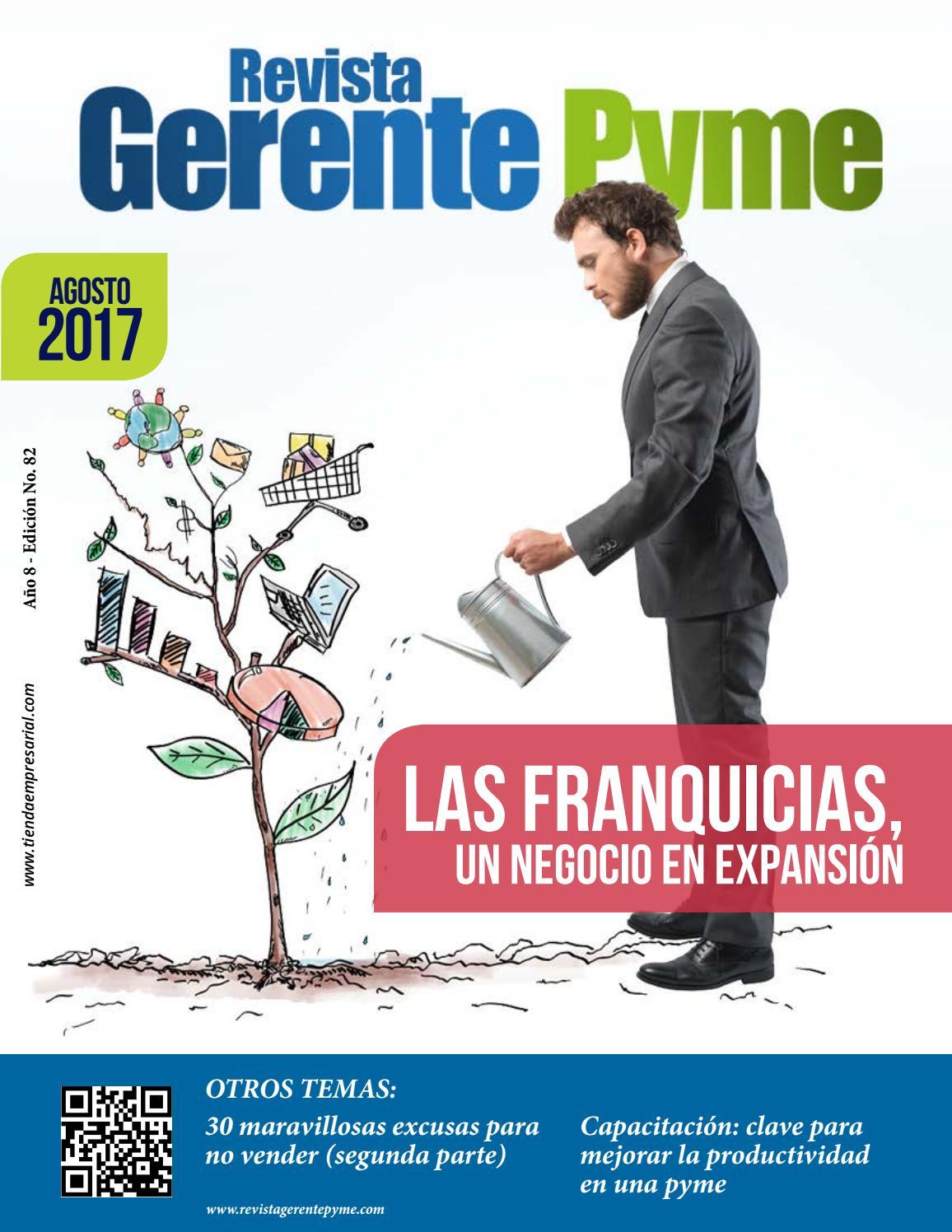 d3cd8a06a76 AGOSTO 2017 by Revista Gerente Pyme - issuu