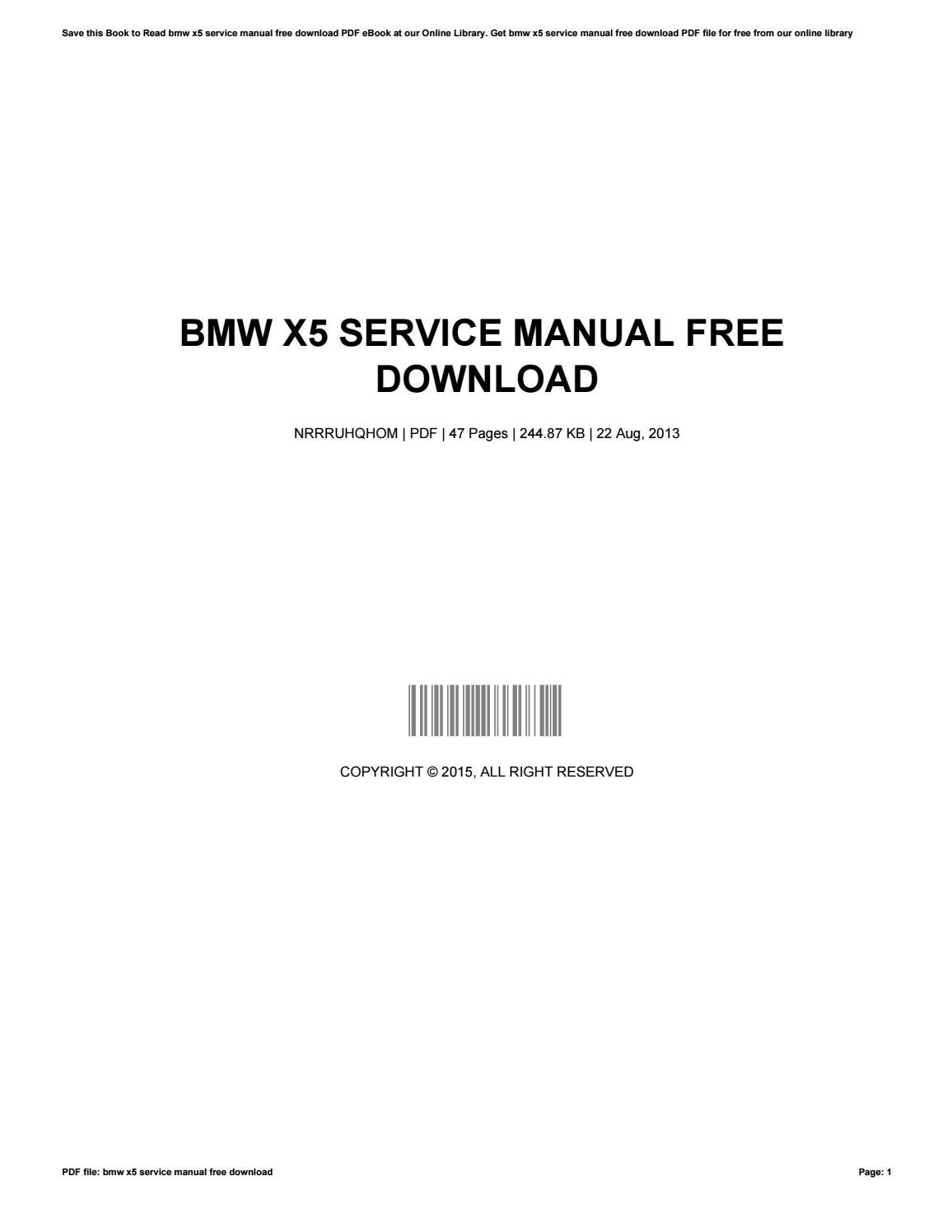 Download 2007 2008 2009 bmw x5 factory repair manual youtube.