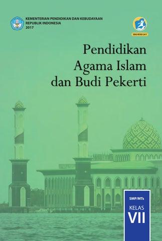 Kelas 07 Smp Pendidikan Agama Islam Dan Budi Pekerti Siswa 2017 By P