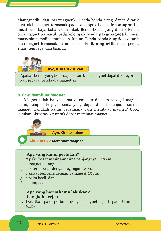 Kelas 09 Smp Ilmu Pengetahuan Alam Siswa 2 By P E Thea Issuu