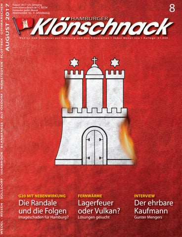 Kloenschnack August 2017 by Hamburger Klönschnack issuu