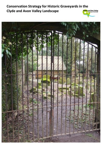 Conservation Strategy for Historic Graveyards in the Clyde