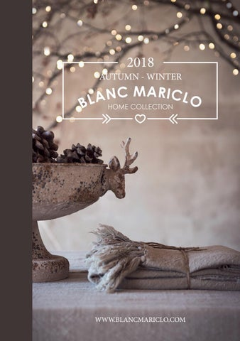 Lookbook Blanc MariClò A/W 2018 by Blanc Mariclo - issuu