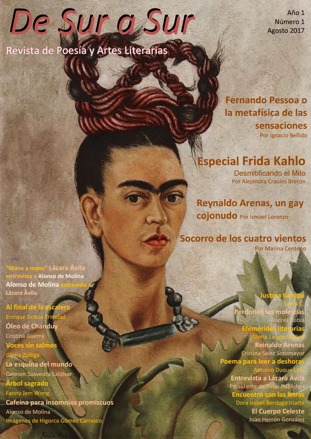 De Sur A Sur Revista De Poesía Y Artes Literarias Año I Num