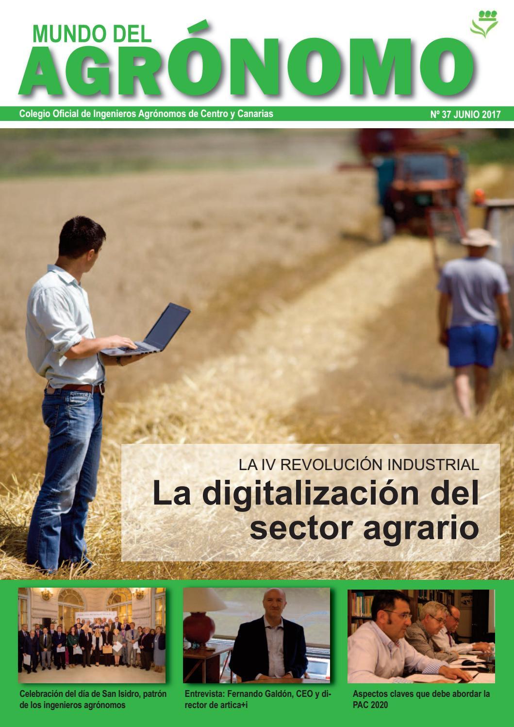 Mundo del Agrónomo nº 37 by Colegio Oficial de Ingenieros Agrónomos ...
