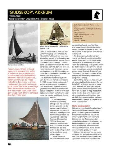 Van Schroot naar Vloot Deel 1 skûtsjes by Uitgeverij PENN