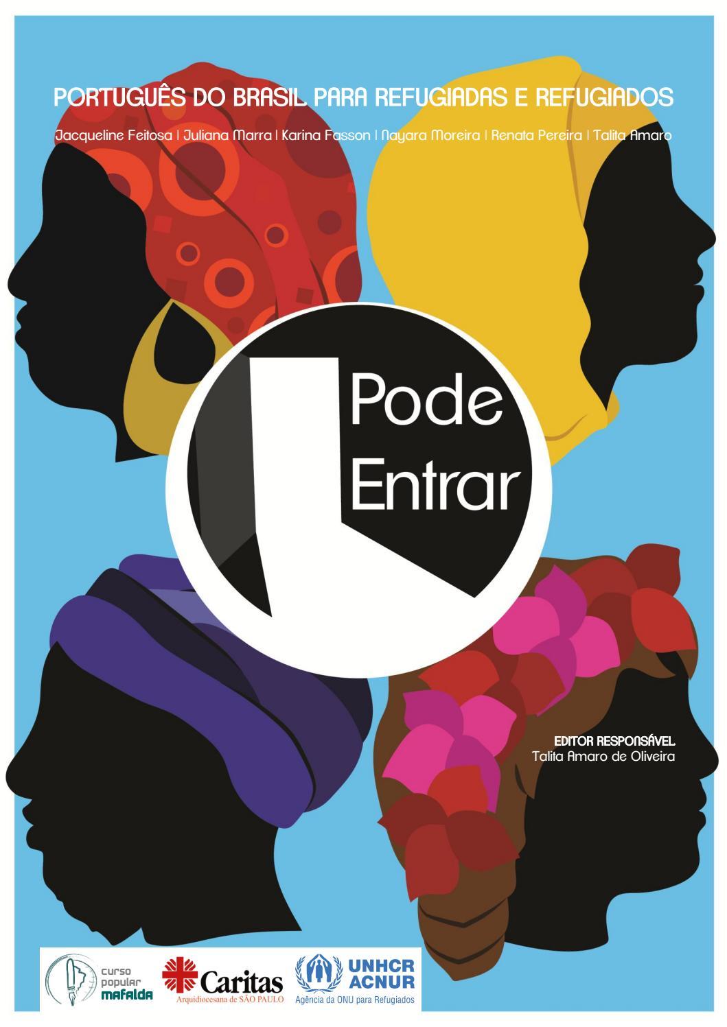 Pode entrar - Cartilha para ensino da língua portuguesa para migrantes by  Cáritas Brasileira Regional Nordeste 2 - issuu ae22817184325
