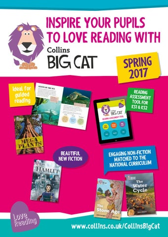Collins big cat 2017 catalogue by collins issuu inspire your pupils to love reading with spring 2017 ideal for guided reading fandeluxe Gallery