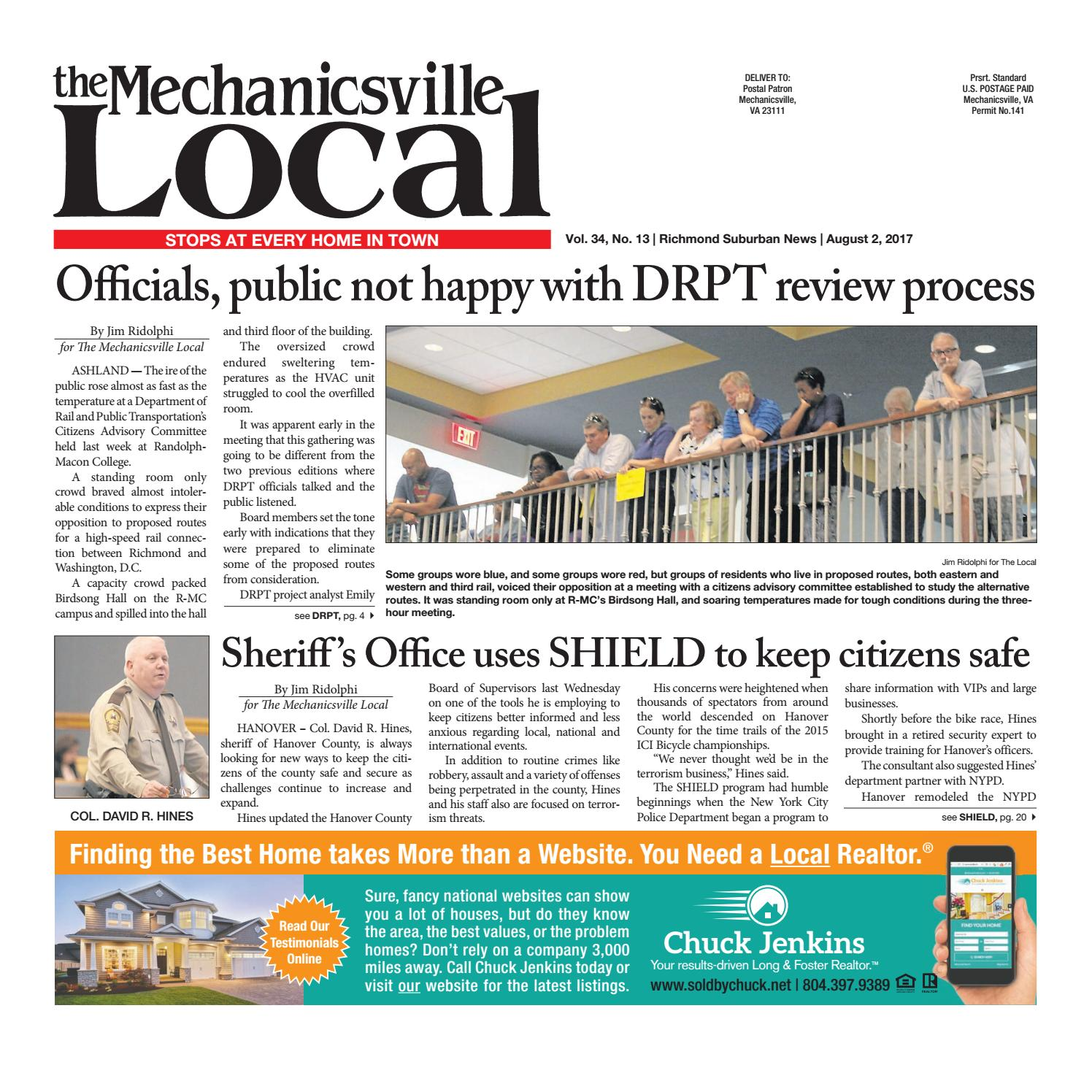 08 01 17 by the mechanicsville local issuu