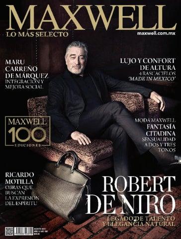 e534f6784 Revista Maxwell León Ed. 100 by Grupo Editorial Maxwell - issuu