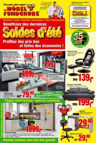 m bel fundgrube prospekt kw 31 francais by die m belfundgrube martin eckert gmbh issuu. Black Bedroom Furniture Sets. Home Design Ideas