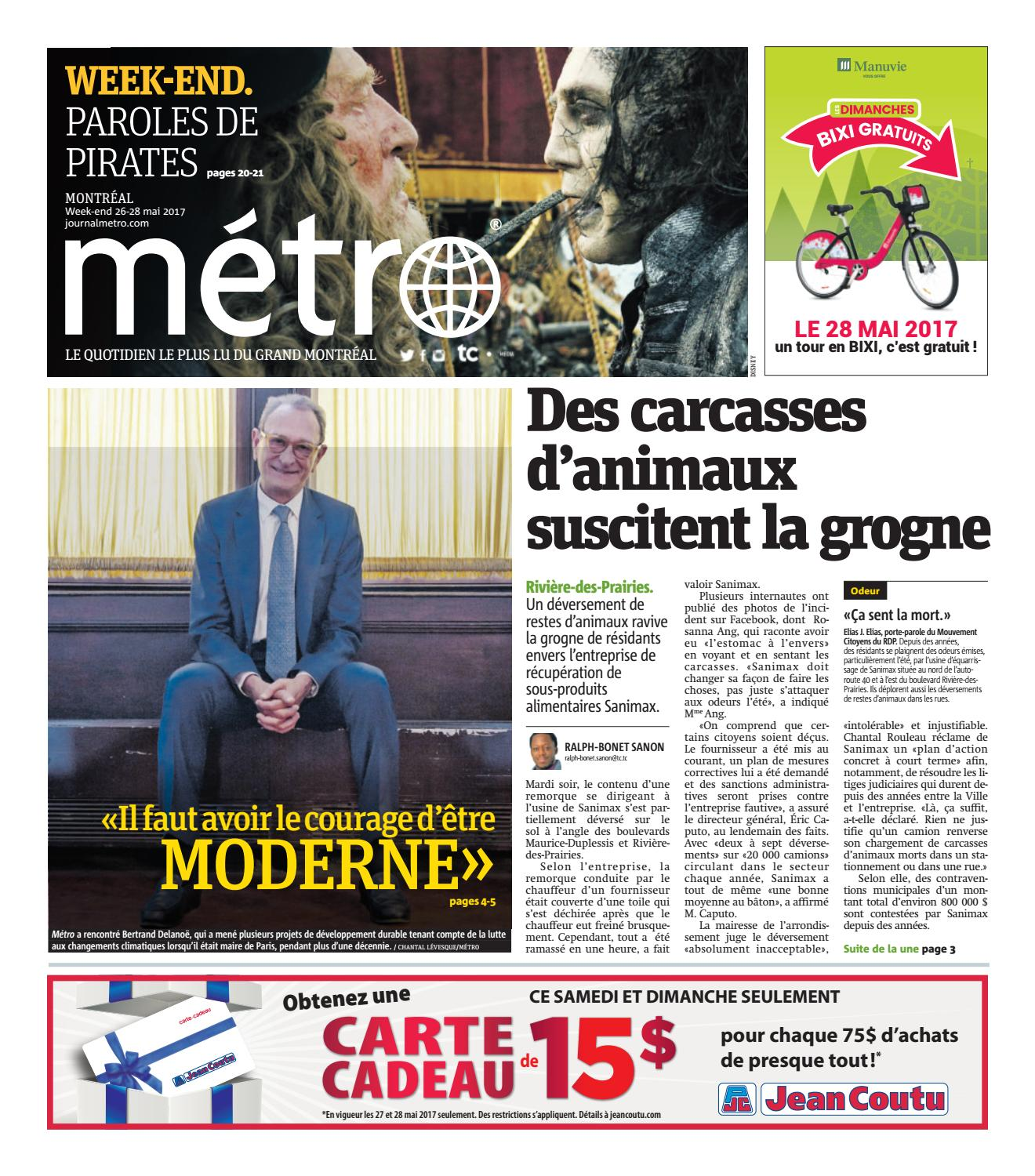 Photo Carte Assurance Maladie Jean Coutu.Montreal 26 05 2017 By Metro Canada Issuu