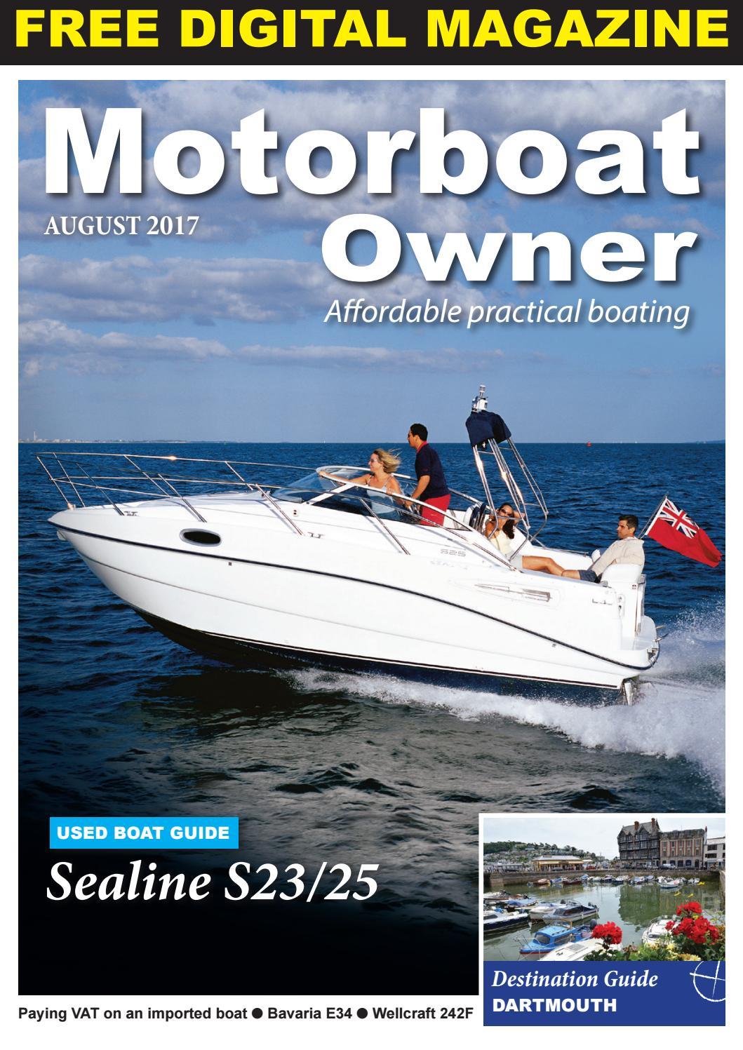 Motorboat Owner January 2018 By Digital Marine Media Ltd Issuu Volvo V50 Fuse Box Problems