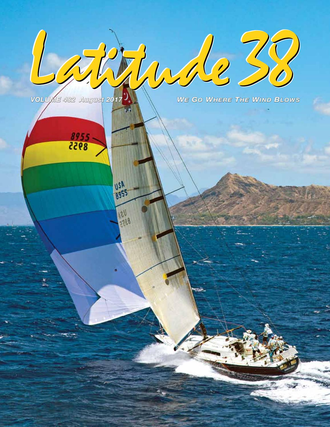 Latitude 38 August 2017 By Media Llc Issuu Hobart Power Plug 230 Volt Male Plugpin Type 50 Amps Model