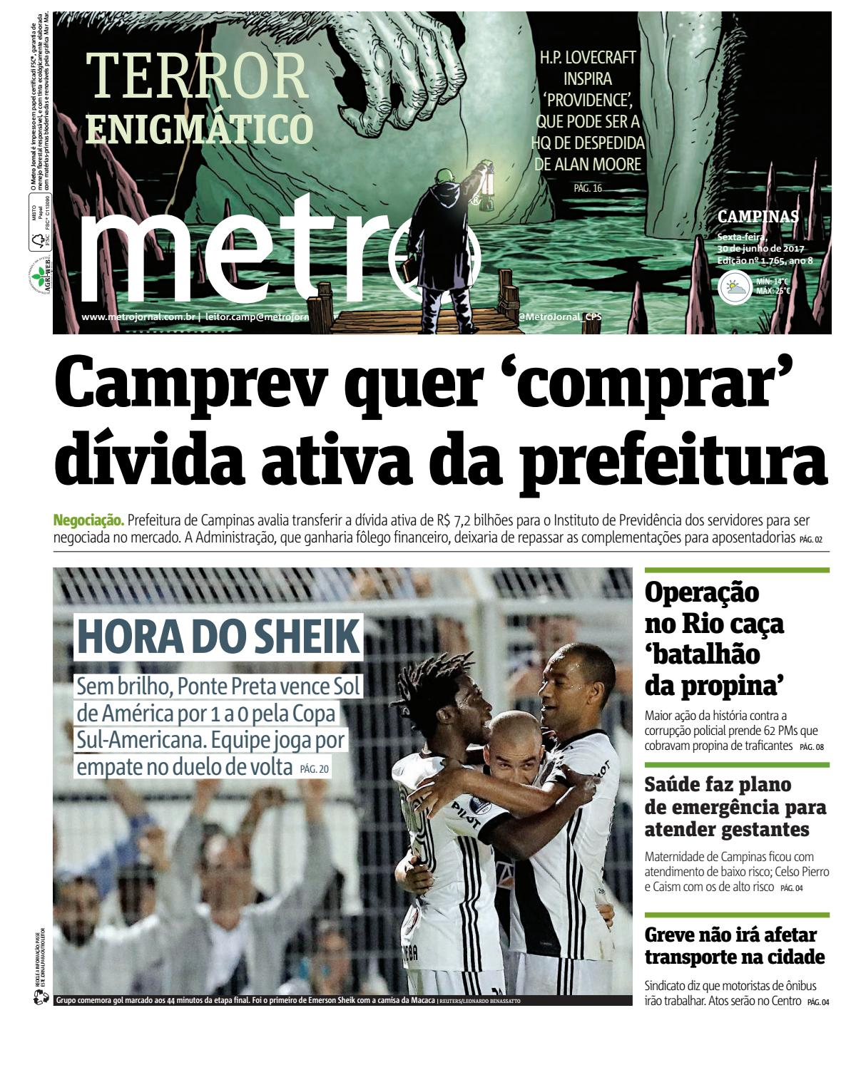 8bbe1a46957e5 Campinas 30 06 2017 by metro brazil - issuu