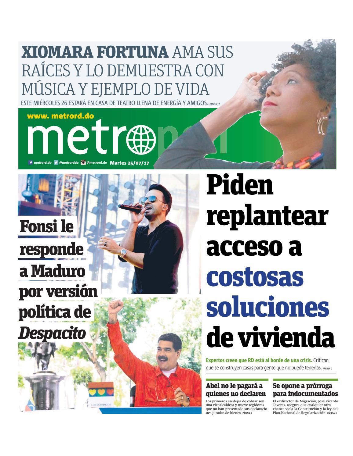 Santo Domingo 25/07/2017 by Dominican Republic - Metro - issuu