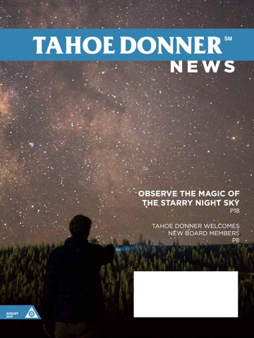 Tahoe Donner News August 2017 by Tahoe Donner Association