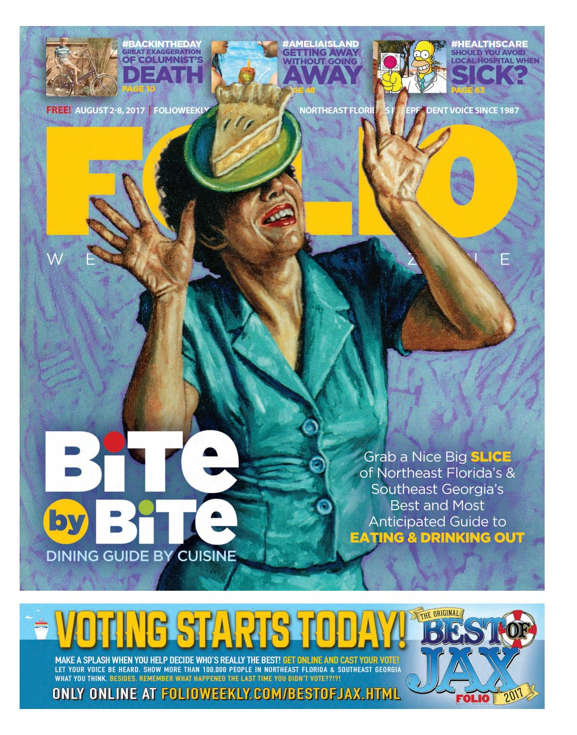 08/02/17 BITE by BITE by Cuisine 2017 by Folio Weekly - issuu