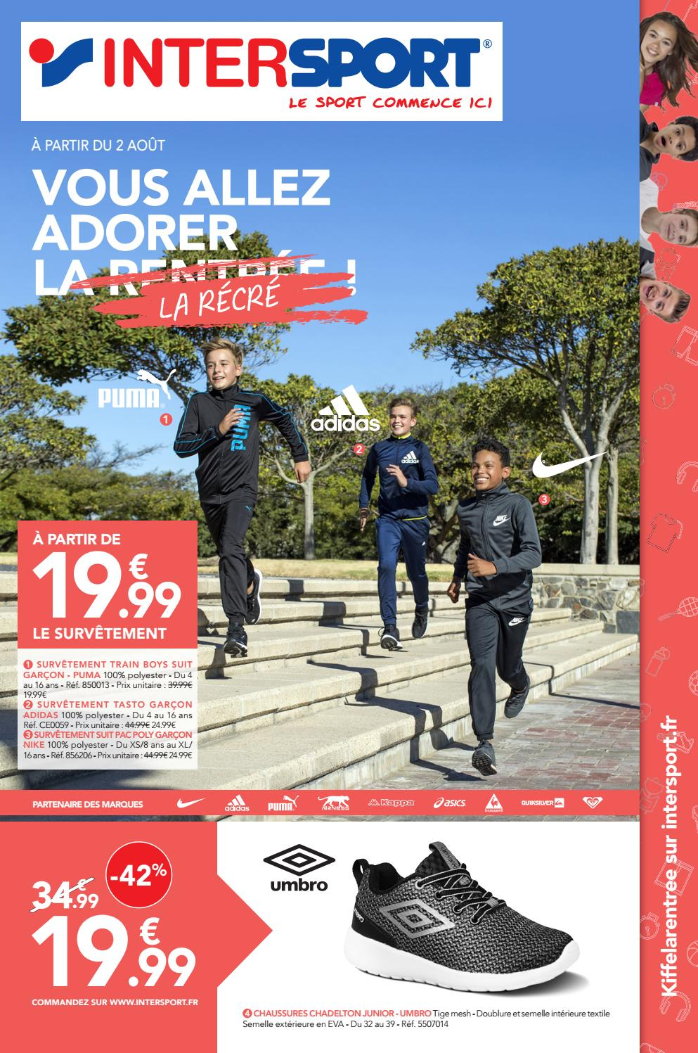 Intersport Des 2017 Catalogue Rentrée By Classes Yssingeaux Issuu EDH9W2IY