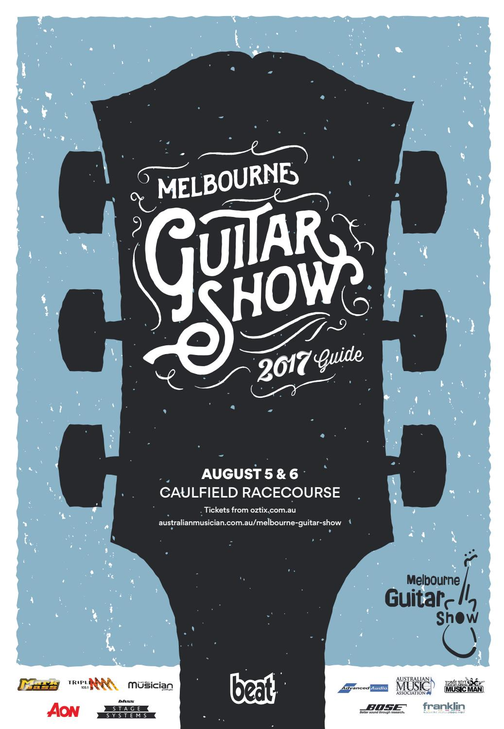 Beats Guide To The Melbourne Guitar Show 2017 By Furst Media Issuu Society Mesa Boogie Dual Rectifier Electronic Circuit Schematic