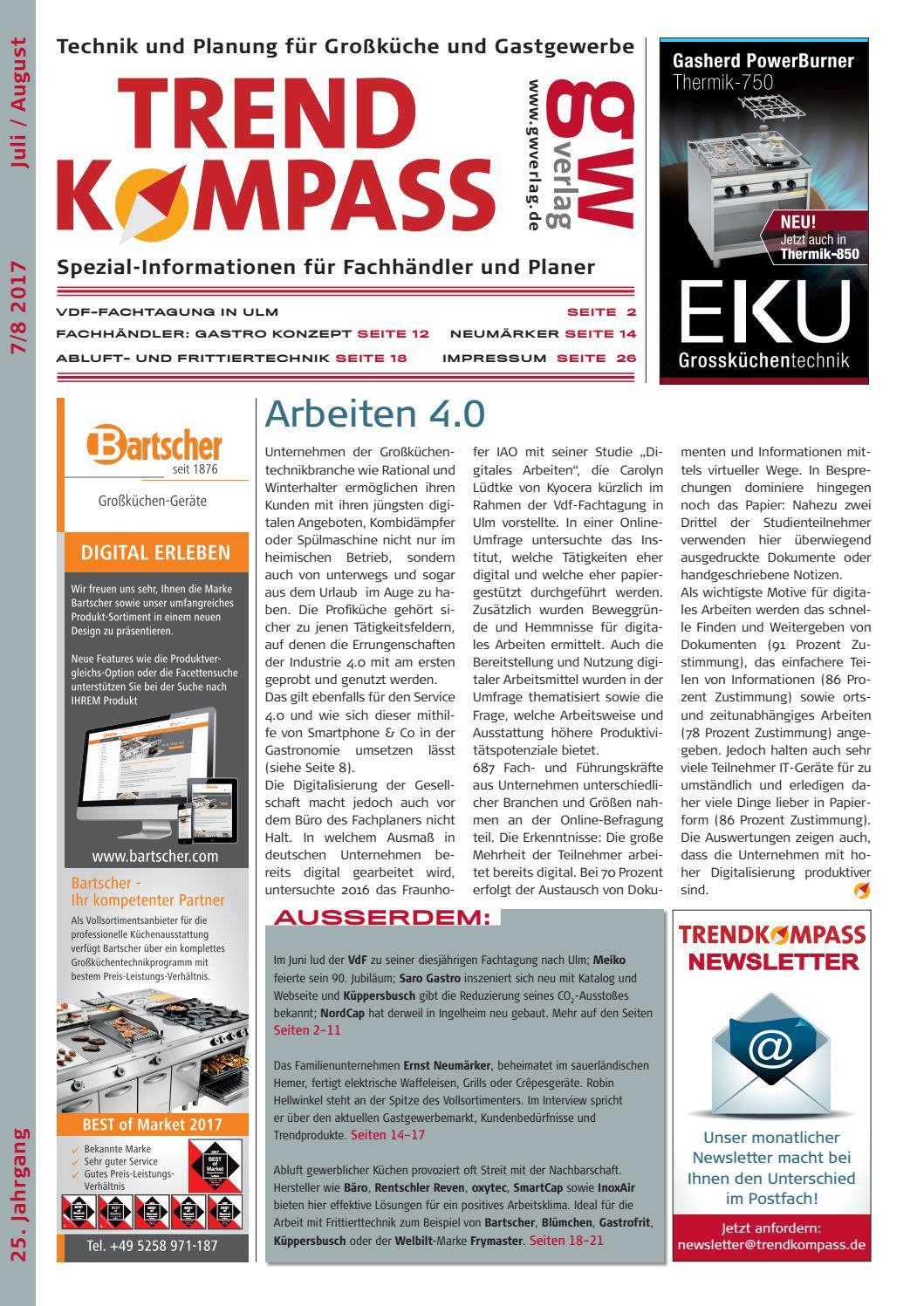 TRENDKOMPASS 7-8/2017 by GW VERLAG - issuu