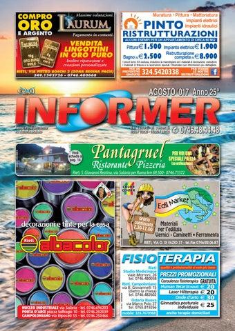 INFORMER agosto 2017 by informer - issuu 3045e2b80b53
