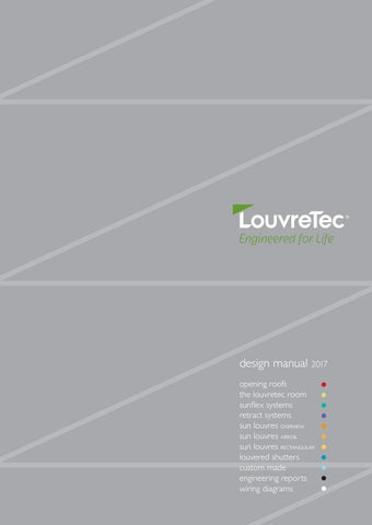 Louvretec design manual 2017 by louvretec issuu retract systems sun louvres overview sun louvres airfoil sun louvres rectangular louvered shutters custom made engineering reports wiring diagrams fandeluxe Gallery