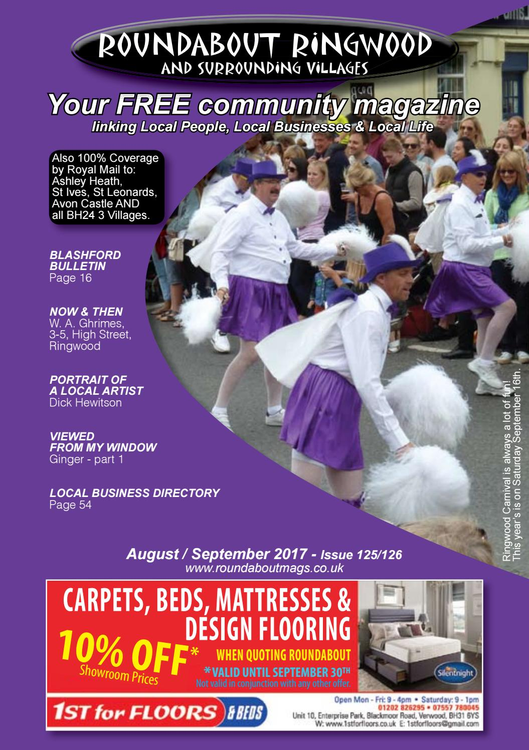 Roundabout Ringwood August by Sue West - issuu