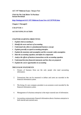 Acc 557 Midterm Exam By Zachary1ratliff Issuu
