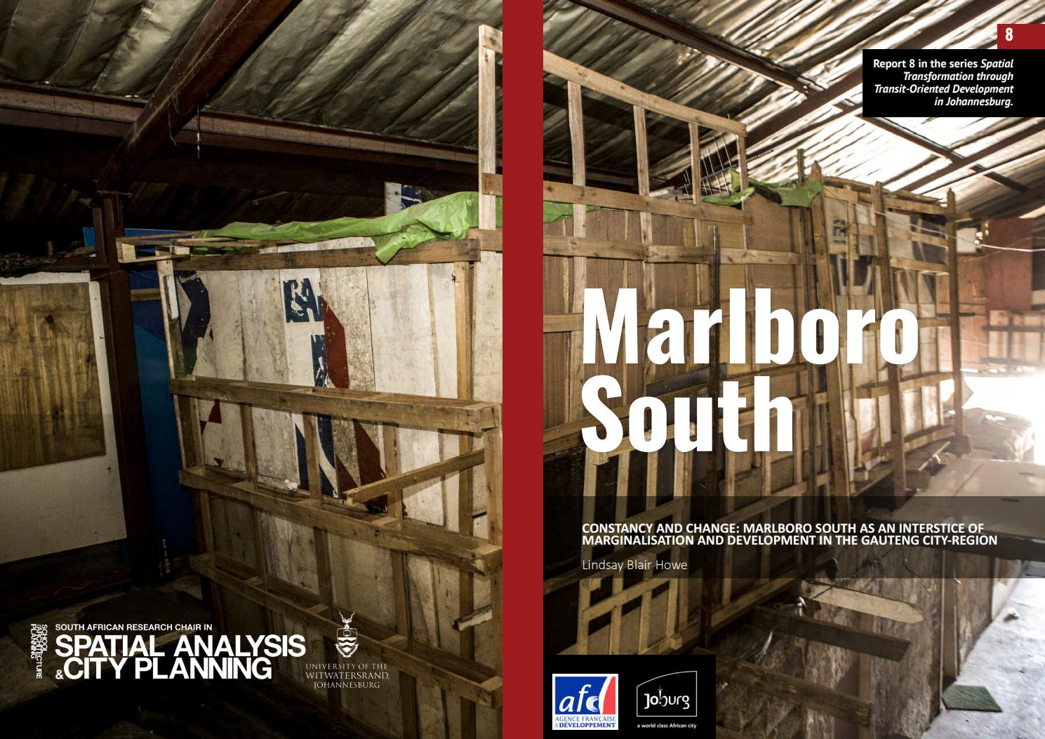 Constancy and Change: Marlboro South as an interstice of ...