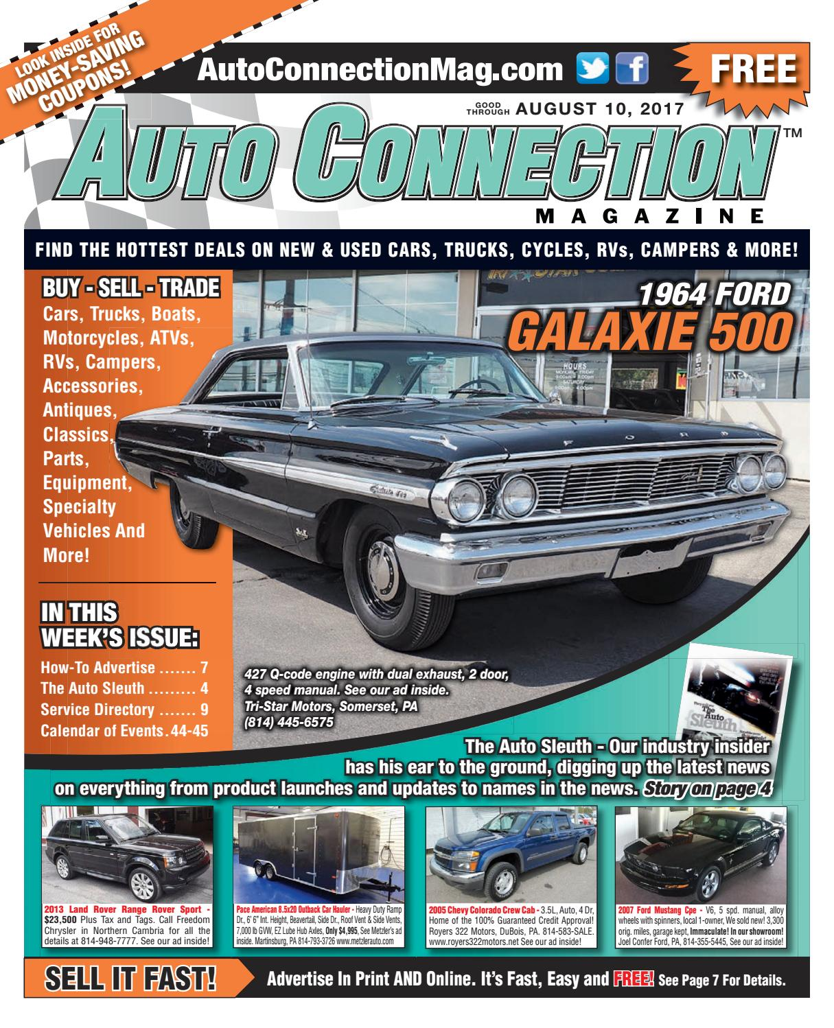 08-10-17 Auto Connection Magazine by Auto Connection Magazine - issuu