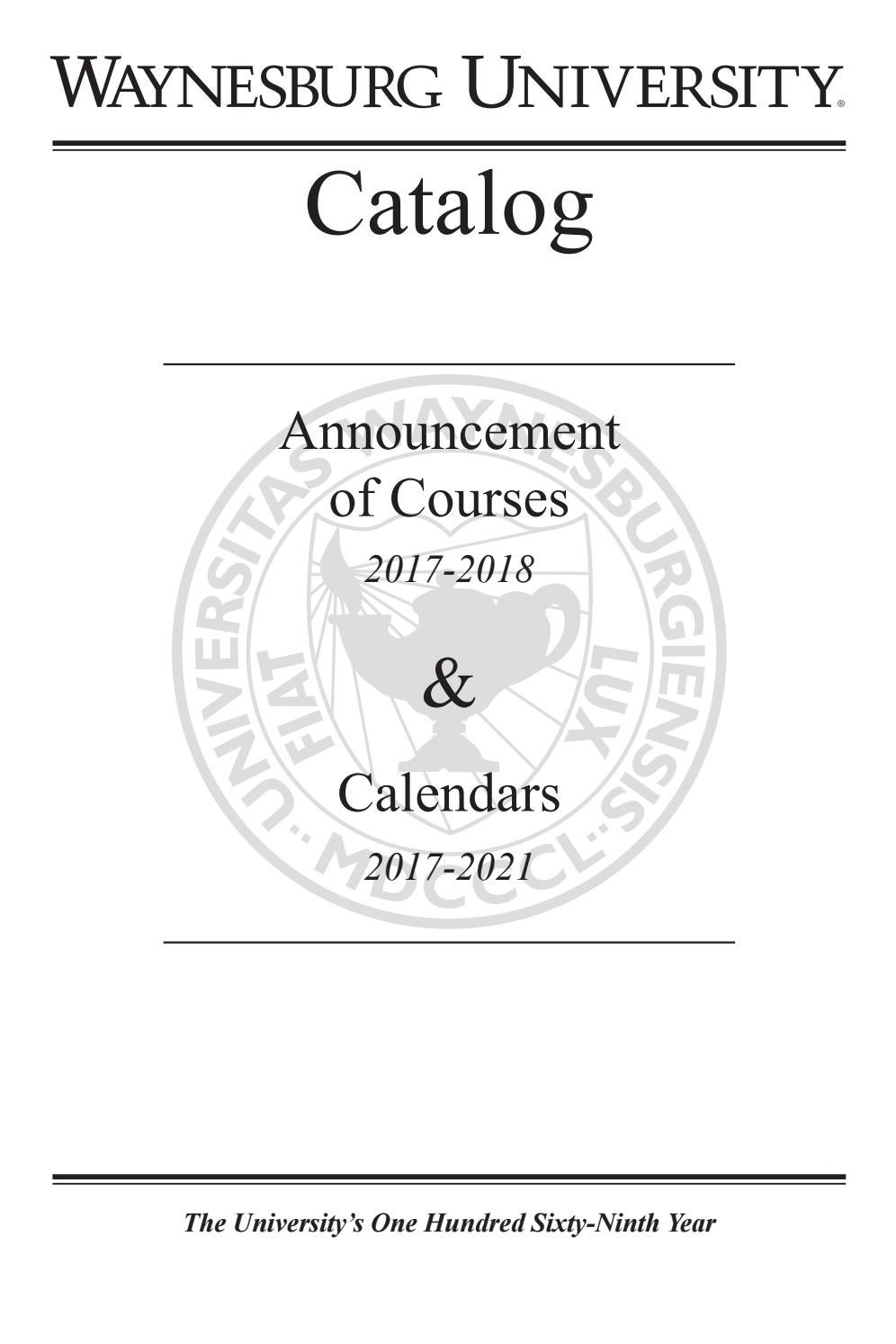 2017 2018 waynesburg university academic catalog by waynesburg 2017 2018 waynesburg university academic catalog by waynesburg university issuu fandeluxe Choice Image