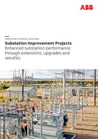 Substation improvement projects by ABBSeth - issuu