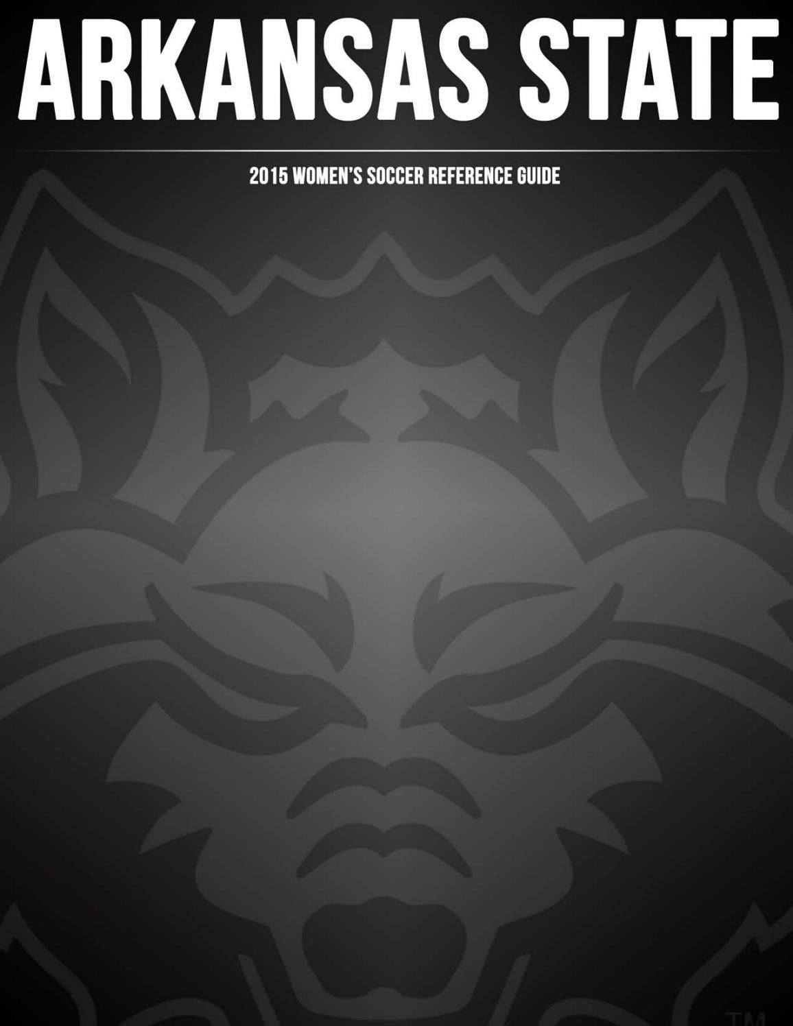 Us Area Codes In Numerical Order%0A      Arkansas State Soccer Reference Guide by Arkansas State Athletics   issuu