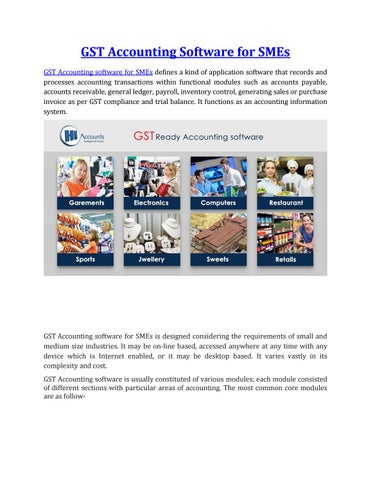 GST accounting software for SMEs by Myhyva - issuu