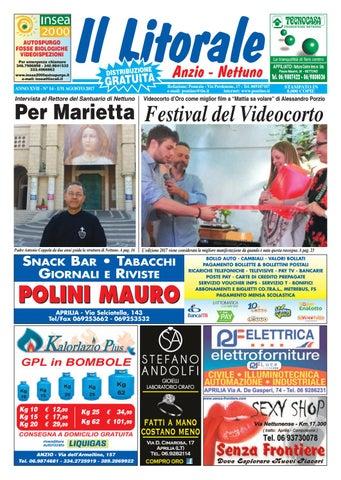 Il Litorale - Anno XVII - N. 14 - 1 31 Agosto 2017 by Il Pontino Il ... c92f55de2bb