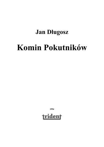9201d97dc7672 Dlugosz jan komin pokutnikow by ciotas - issuu