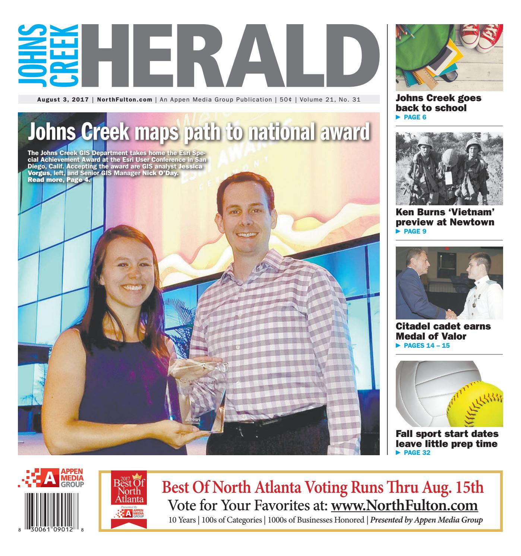 Johns Creek Herald August 3 2017 By Appen Media Group Issuu John Deere Belt Diagram 8 10 From 7 Votes 9